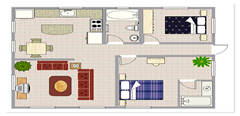 home_floor_plan_design and Interior fittings